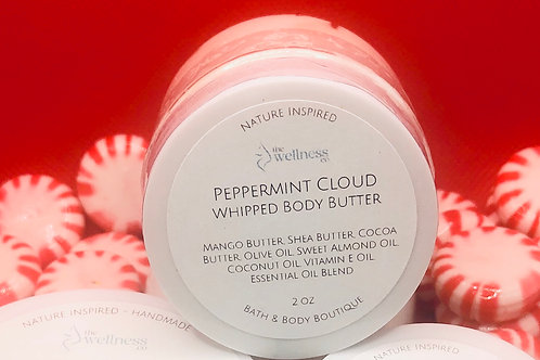 Peppermint Cloud Whipped Body Butter