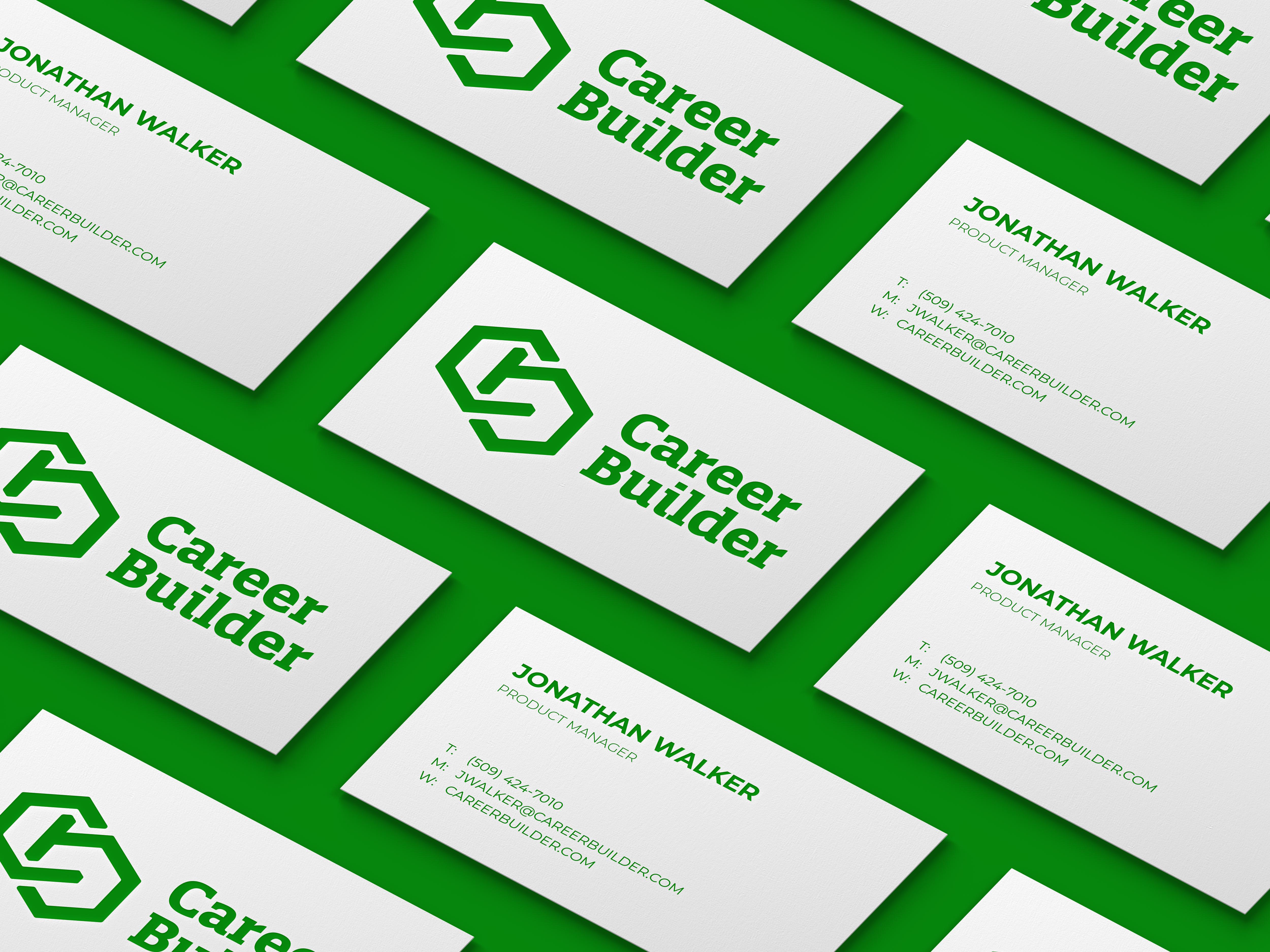Career Builder Logo Redesign