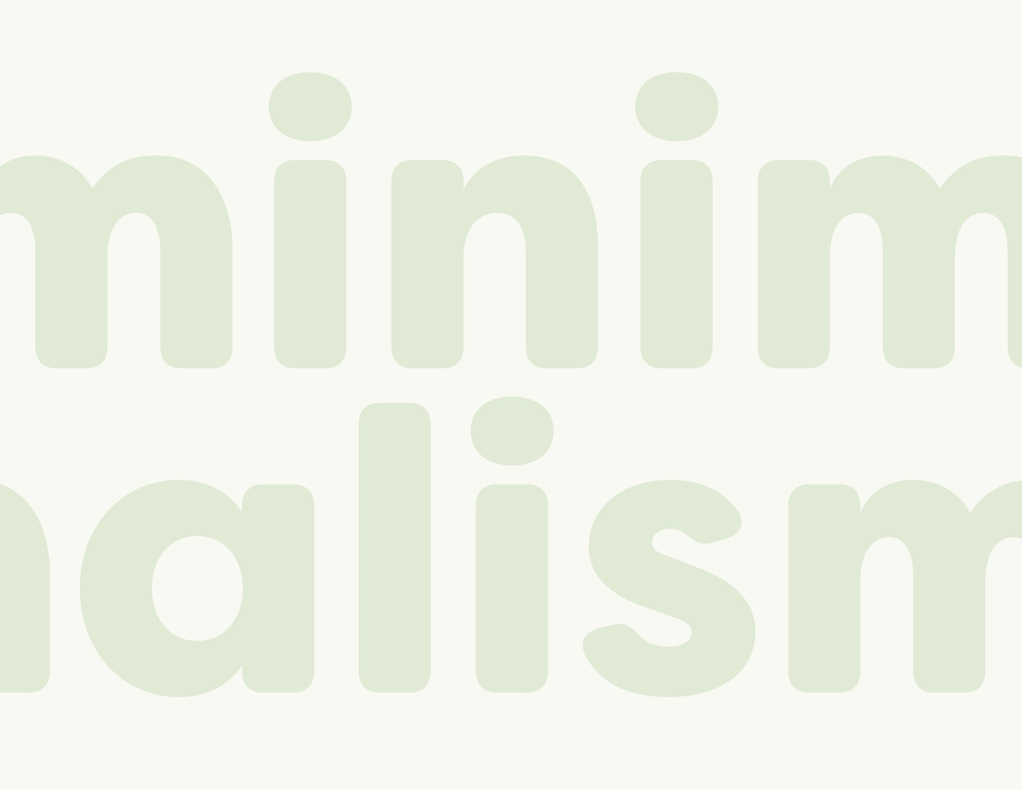 Minimalism Magazine & App