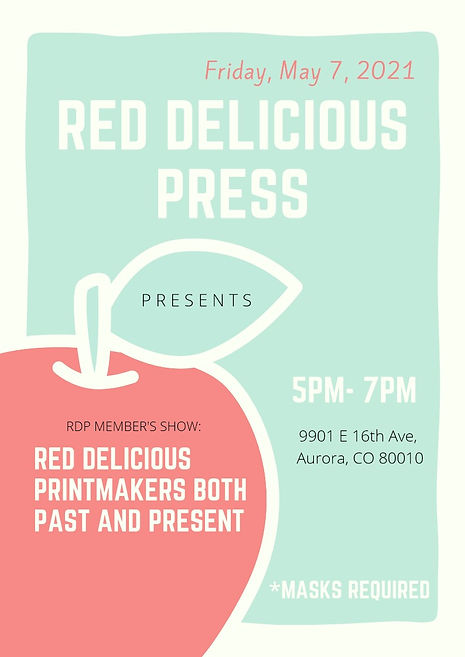 Red Delicious Press Members Show May 202