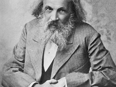 Rememoración I: Dimitri Ivánovich Mendeléyev