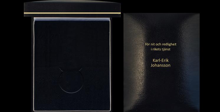 Etui för NOR-medaljen