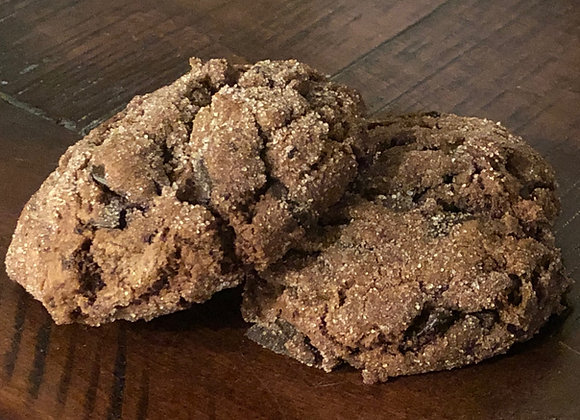 Double Chocolate Chunk Chipperdoodles