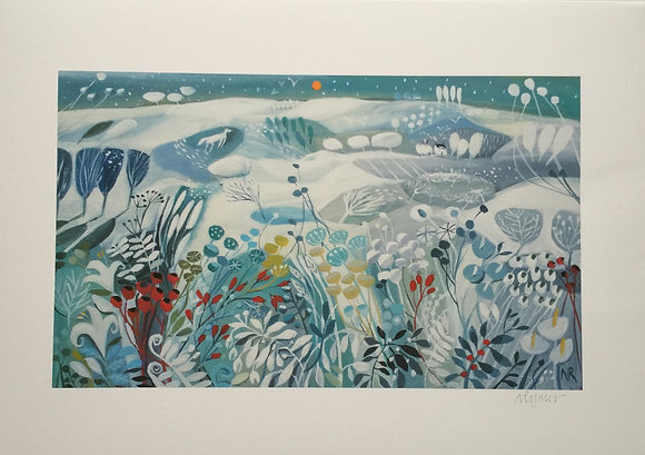 A Winters Dream giclee print