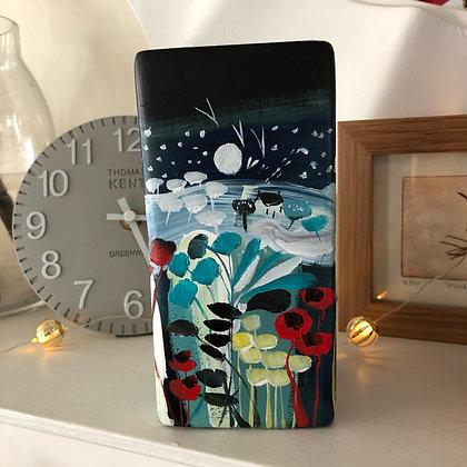SOLD Silent Night Vase