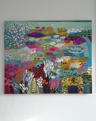 Secret River canvas print