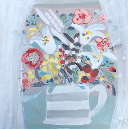 SOLD White Lillies