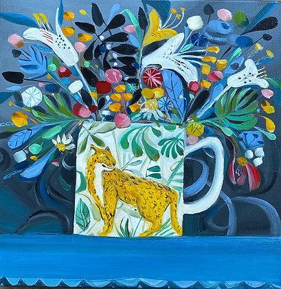 SOLD The Leopard Mug