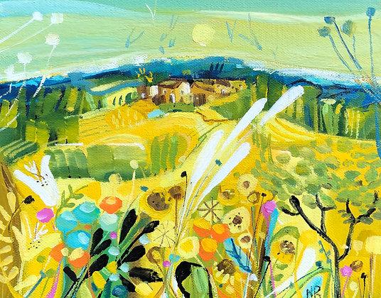 Summer Days 25x20cm acrylic on box canvas