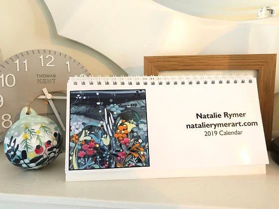 2019 Natalie Rymer Desk Calendar