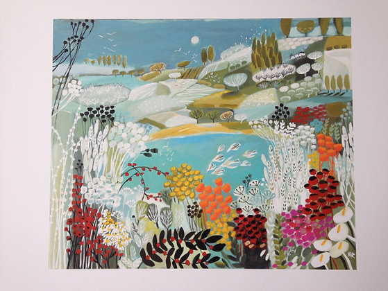 Secret Bay giclee print