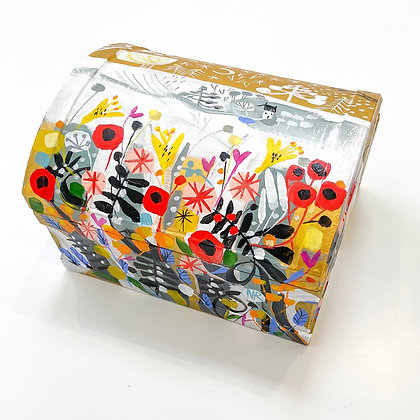 Handpainted Keepsake Box