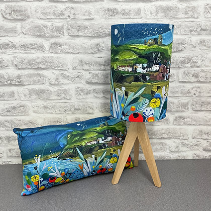 Whitby Lampshade And Cushion Set