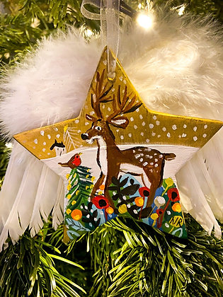 Christmas Stag Star