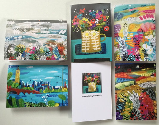 SALE NEW Greetings Cards Pack of 5