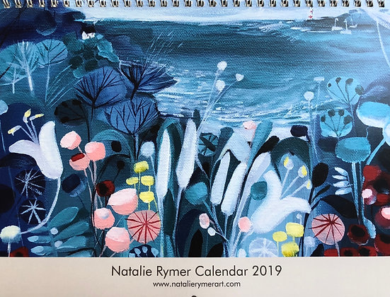 2019 Natalie Rymer Wall Calendar