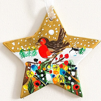 Gold Star Robin