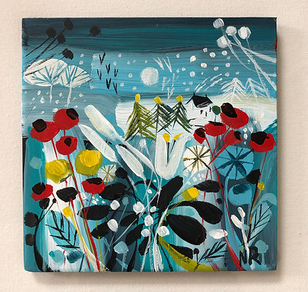 SOLD Winter Days Ceramic Tile