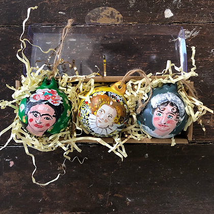 Heirloom Ceramic Baubles