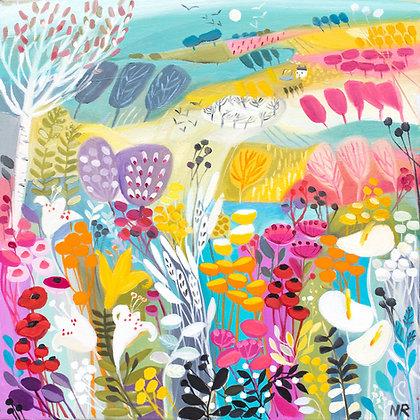 The Summerhouse canvas print