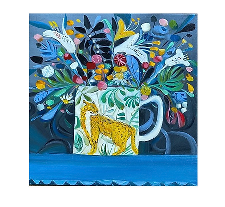 The Leopard Mug