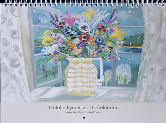 NEW 2018 Natalie Rymer Calendar