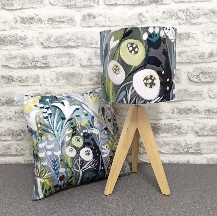 COtoo lampshade and cushion collaboration
