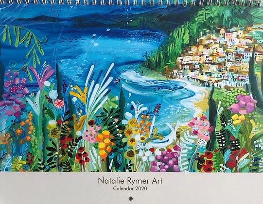 Natalie Rymer Art 2020 Calendar