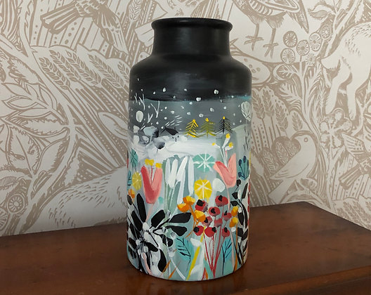 SOLD When The Snow Comes Vase