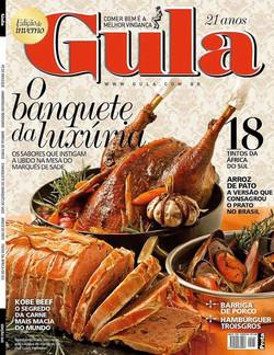 Facebook - Minha foto na capa da revista Gula 245, esta matéria ficou show!!!