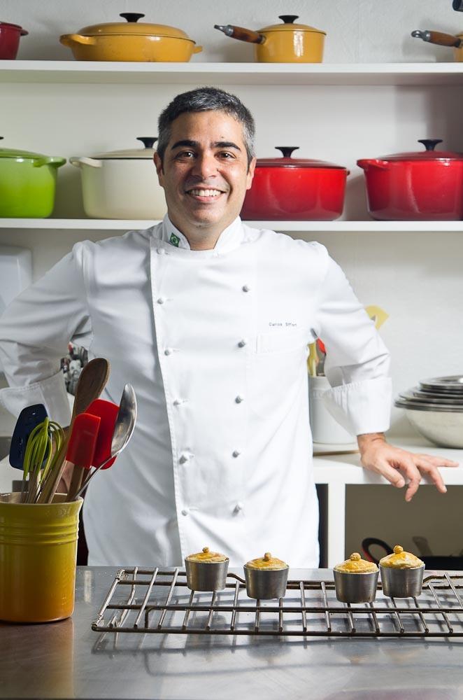 retrato chef