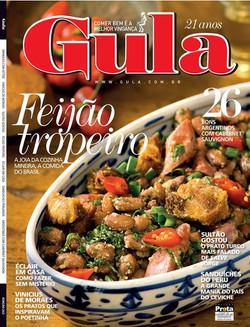 Facebook - Capa da revista Gula 242 já nas bancas! Feijão Tropeiro preparado pel