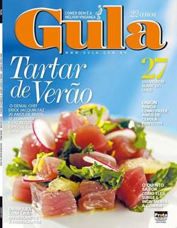 Facebook - Atenção atenção acabei de receber capa da próxima Revista Gula, logo