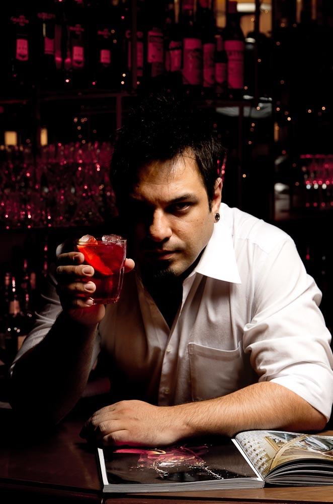 foto de barman