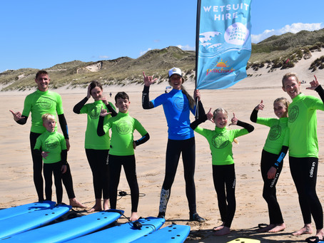 Surfing and life skills