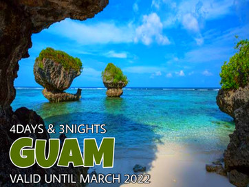 4 Days and 3 Nights - Explore Guam Package.