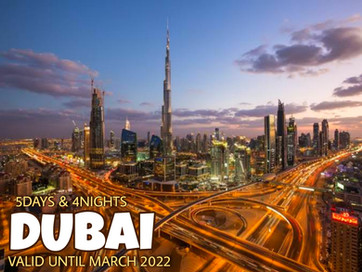 5 Days and 4 Nights - Unbeatable Dubai Package