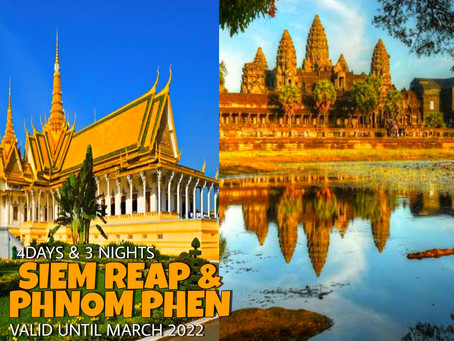 4 Days and 3 Nights -Siem Reap and Phnom Penh Package.