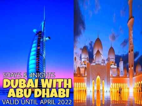 5 Days and 4 Nights - Dubai with Abu Dhabi Package.