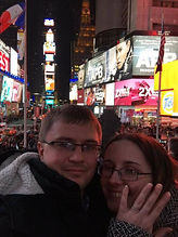 Emma and her partner in New York just got engaged