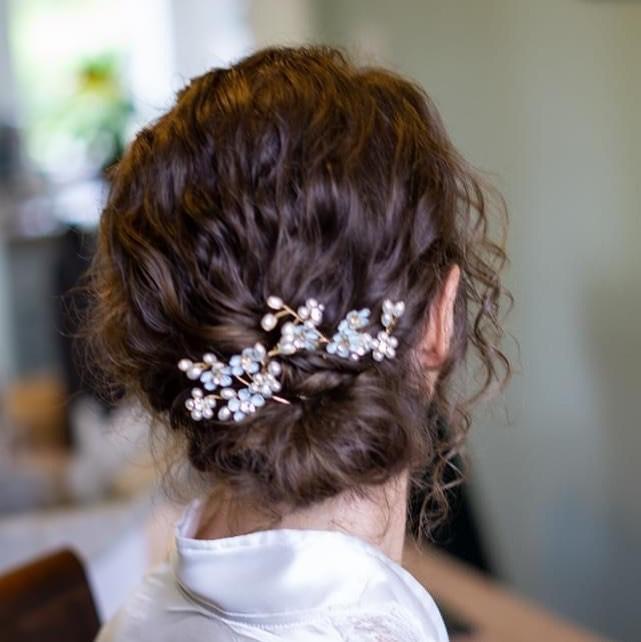 crystal hair style