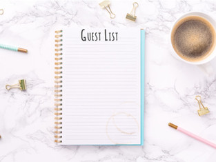 8 Tips On How To Create Your Wedding Guest List