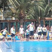 Fun games around the pool