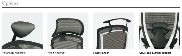 Contessa Seconda Headrest & Lumbar Support