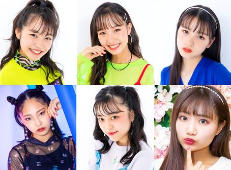 こあさひまり、利藤陽菜ら6名のモデルが新たに所属となりました!