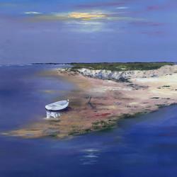 la barque blanche
