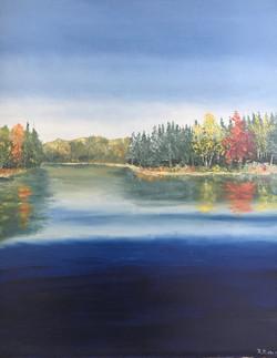 le lac Edouard (Quebec)