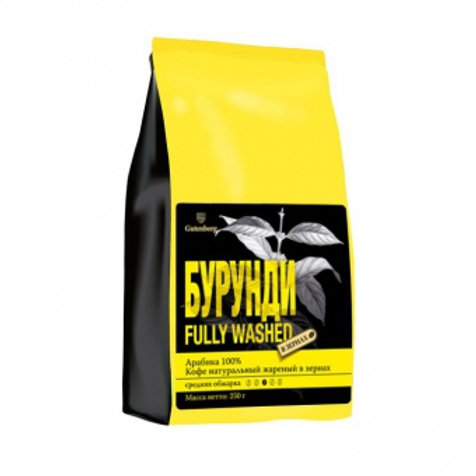 Кофе в зернах Бурунди Fully Washed