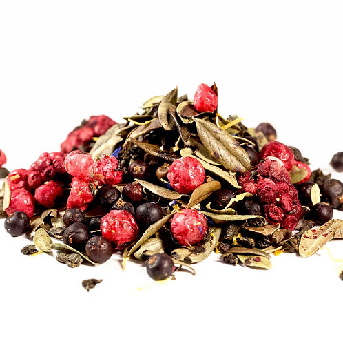 Зеленый чай Таежный сбор