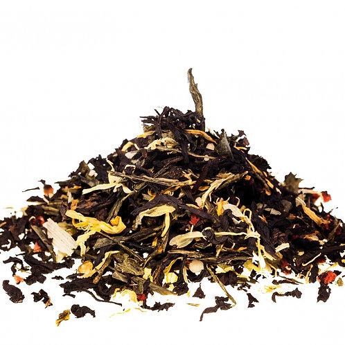 Черный чай Клубничное лукошко